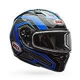 Bell Qualifier Dual Shield Snow Helmet (Reflective Blue, X-Large)
