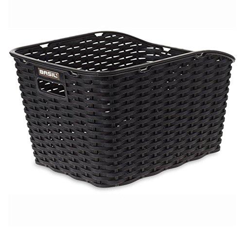 Basil Fahrradkorb Weave Wp, Black, One Size, 20015