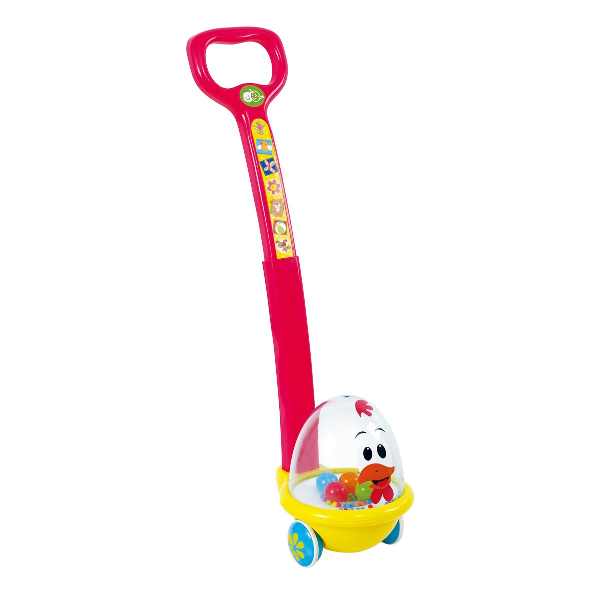 PlayGo Happy Hen Push Along Push /& Pull Baby Toys