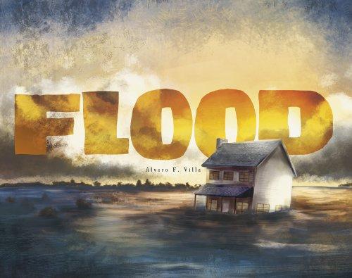 好书推荐!《Flood》借绘本的力量,和孩子聊聊灾难