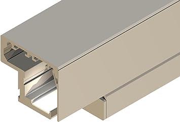 Madera-Herraje de puerta corredera de Rodas, para los lados 60 mm X 20 mm y puertas sin luz del cuello, de la puerta de ancho de 610 mm: Amazon.es: Bricolaje y herramientas