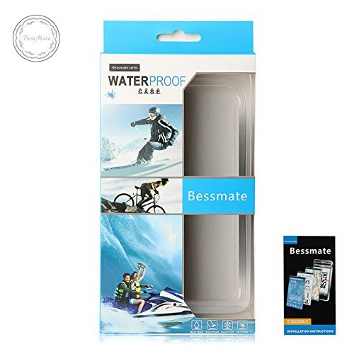 iPhone 5S Waterproof Case, Bessmate IP 68 Waterproof, Dustproof, Snowproof, Shockproof Protrctive Carrying Cover Cases with Fingerprint Recognition Touch ID for iPhone 5S (White) by Bessmate™ (Image #7)