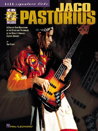 Jaco Pastorius - Signature Licks Bass Songbook - (Signature Licks Bass)