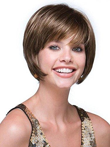 - Audrey Wig Color Auburn Sugar - Noriko Wigs Short 6
