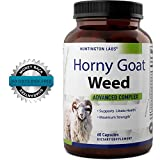BEST MALE ENHANCEMENT -Horny Goat Weed Supplement with fast acting Maca Root Powder - Natural Testosterone booster - Increase energy + stamina + performance - Huntington Labs 60 Capsules - 51fa1hnKBTL - BEST MALE ENHANCEMENT -Horny Goat Weed Supplement with fast acting Maca Root Powder – Natural Testosterone booster – Increase energy + stamina + performance – Huntington Labs 60 Capsules