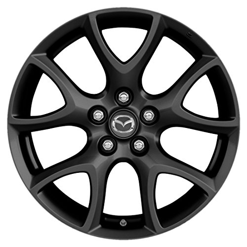 FULL SET - Genuine Mazda Mazdaspeed3 OEM Dark Grey Alloy Rims - 18