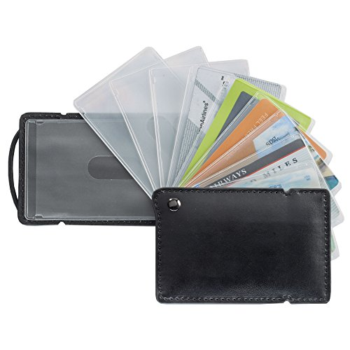 Smooth Trip QuickPick RFID Blocking Credit Card Holder with Sleeves