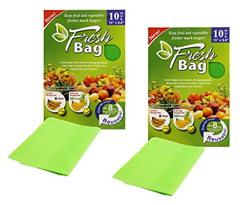 Green Bags Keep Fruit Fresh - 7