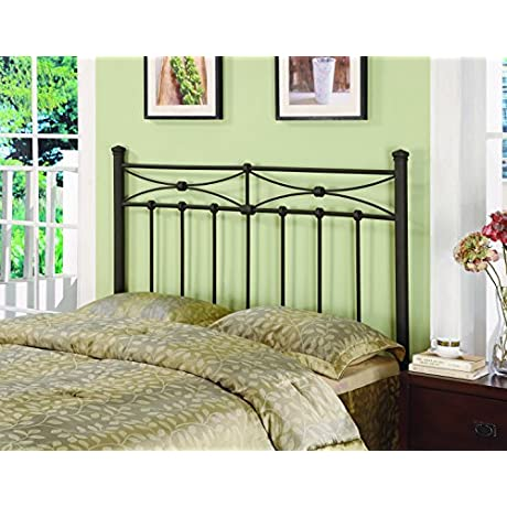 Coaster Home Furnishings Metal Headboard Queen Full Rustic Metal