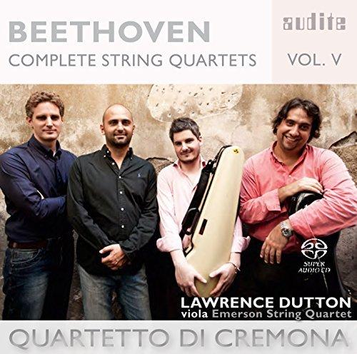 LAWRENCE DUTTON, QT.O DI CREMONA - BEETHOVEN: COMPLETE STRING QUARTETS VOL.5 by LAWRENCE DUTTON (2015-11-27) - Amazon.com Music