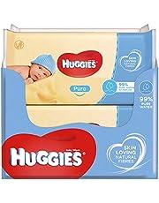 Huggies baby billendoekjes - 99% water - Pure - 560 stuks - Voordeelverpakking