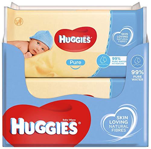 Huggies baby billendoekjes – Pure – 1008 doekjes – Voordeelverpakking