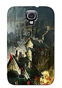 Crazinesswith Design High Quality Guild Wars 2 Cover Case With Ellent Style For Galaxy S4(nice Gift For Christmas)