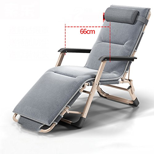 Merveilleux Lu0026J Patio Lounger Chair, Office Zero Gravity Chaise Lounges Adjustable  Folding Chairs, Balcony Garden