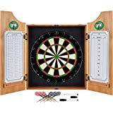 NBA Boston Celtics Wood Dart Cabinet Set