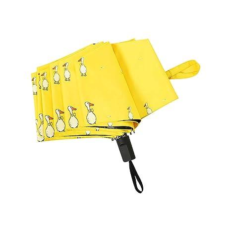 LAAT Paraguas Protección UV Resistencia Óptima contra el Viento y la Lluvia Navidad,Halloween,