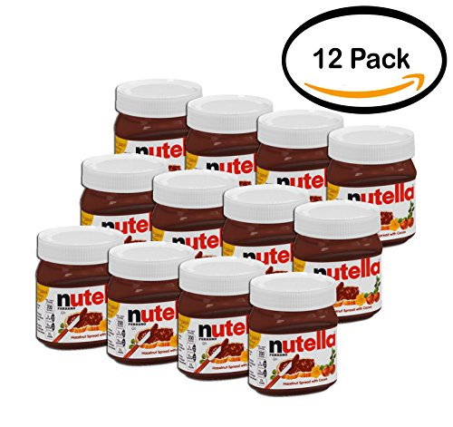 PACK OF 12 - Nutella Hazelnut Spread 13 oz. Jar by Nutella