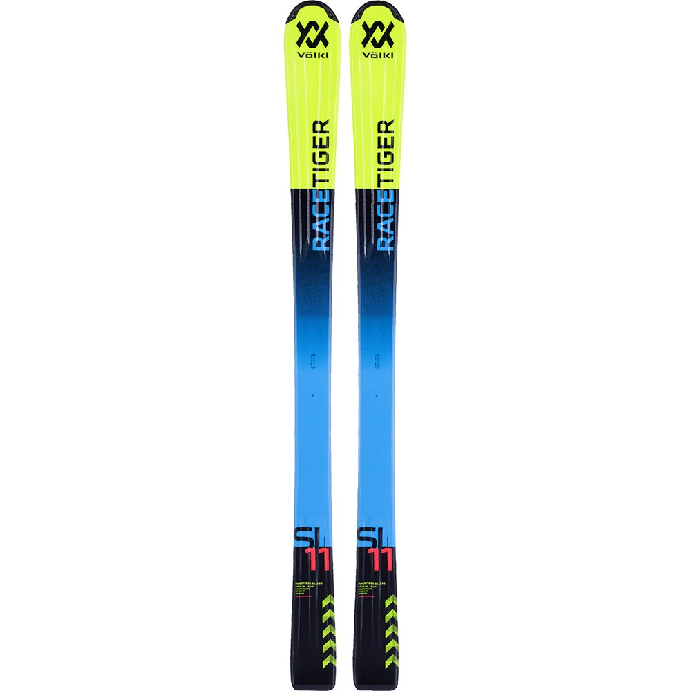 2018 Volkl Racetiger Yellow 140cm JR Skis by Volkl
