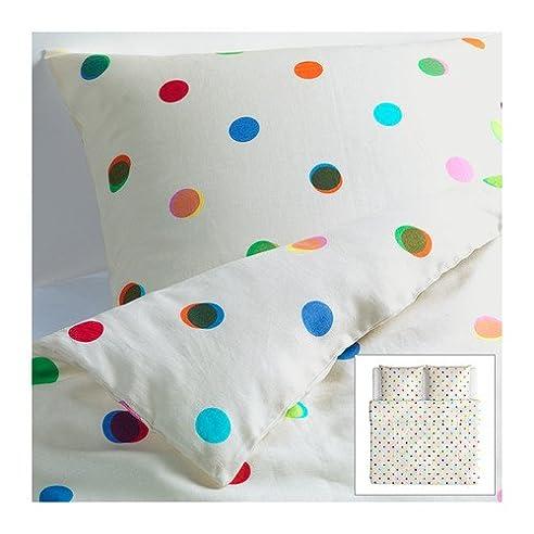 ikea bettw sche bunte punkte my blog. Black Bedroom Furniture Sets. Home Design Ideas
