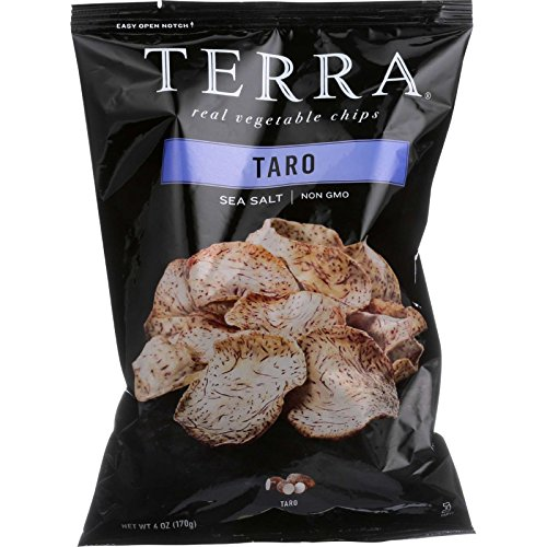 Terra Taro Chips Sea Salt -- 6 oz by Terra
