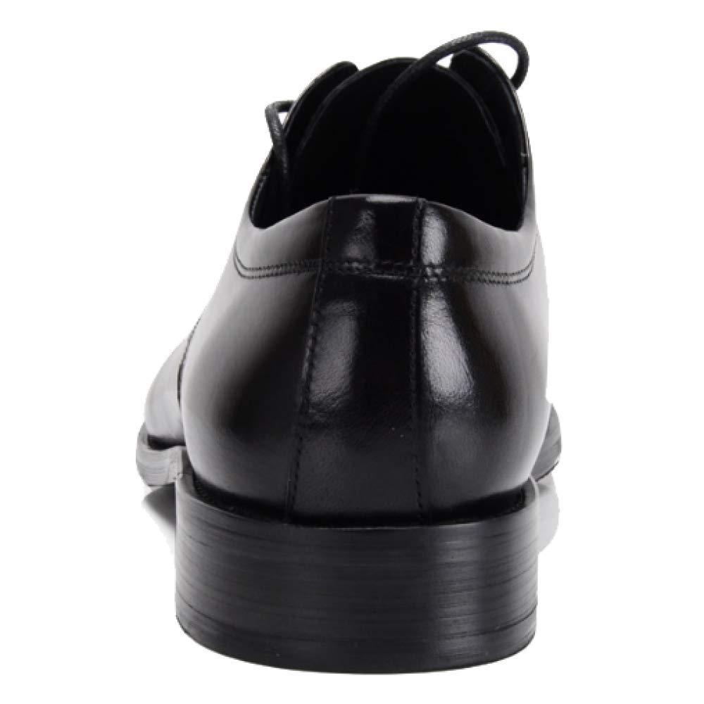 NIUMT Britischen Stil Version Wies Business Schnürschuhe Europäische Version Stil Trend Koreanische Version Einfache Hochzeit Schuhes Braun e75863