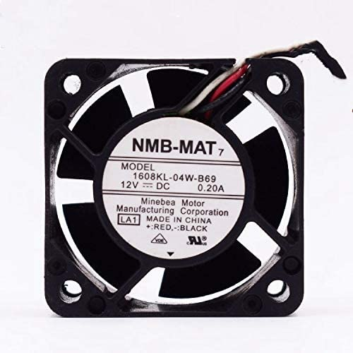 huayu for NMB 1608KL-04W-B69 12V 0.20A 4020 4CM 3-Wire Cooling Fan