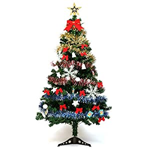Guojia 2ft Desktop Christmas Tree Suit, DIY Pre-Lit Tabletop Artifical Christmas Tree Decoration for Kids,Suitable for Evening Party, Office, Hotel, Family Decoration 79