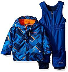 Columbia Baby Buga Snow Set, Super Blue Printvalencia, 6-12 Months
