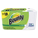 Bounty 95027 Perforated Towel Rolls, 2-Ply, White, 11 X 10 1/5, 60 Sheets/roll, 12 Roll/pack