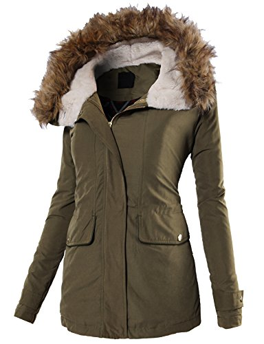 H2H Womens Casual Hooded Winter