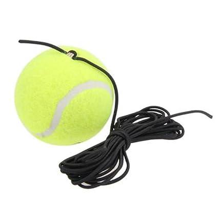 SUNERLORY Pelota de Entrenador de Tenis con Cuerdas ...