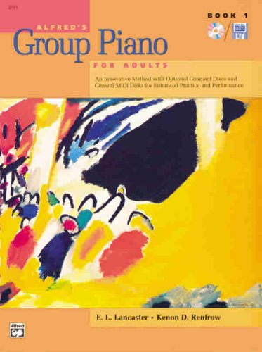 Alfred's Group Piano For Adults:Book 1