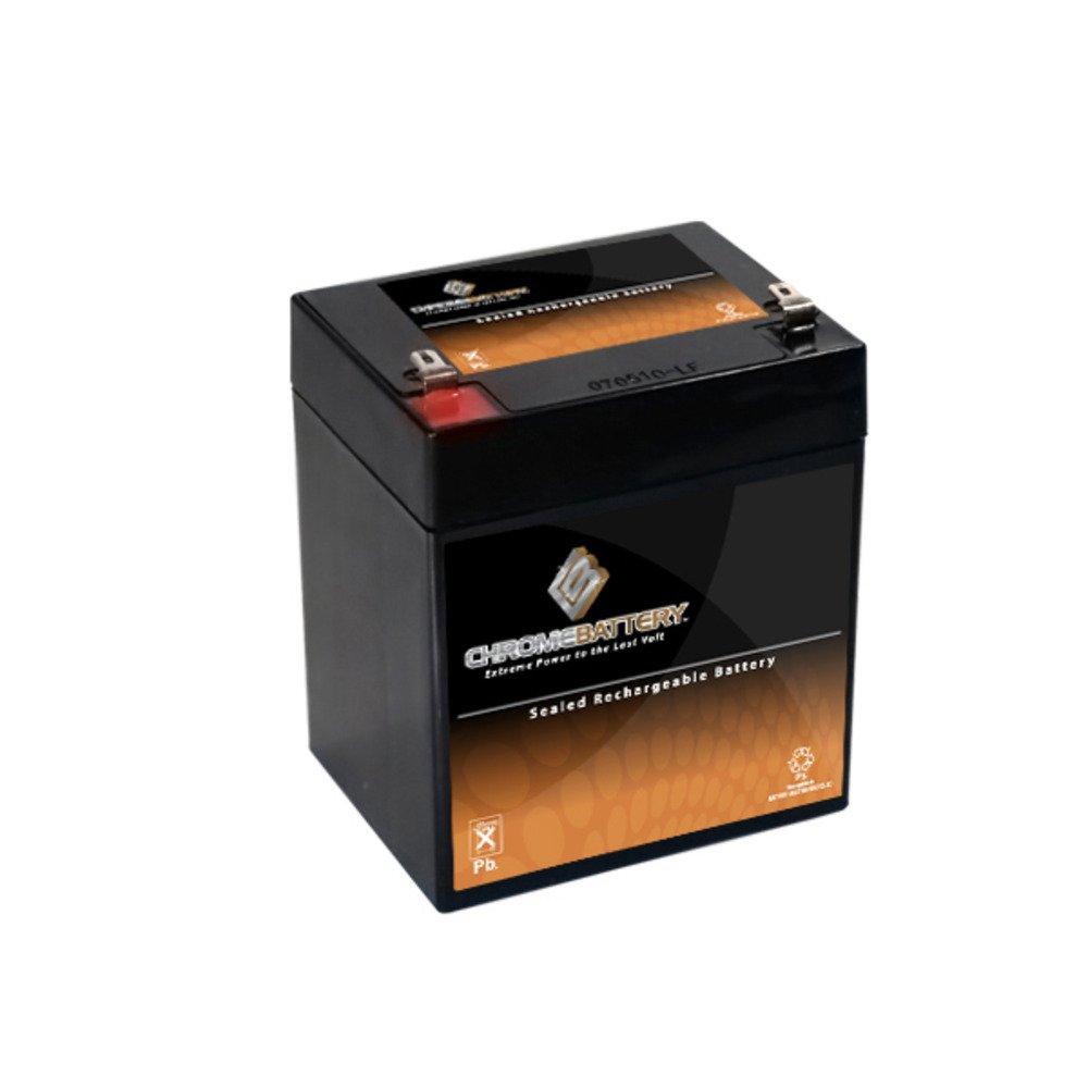 12V 5AH Sealed Lead Acid (SLA) Battery for Home Alarm Security System