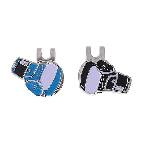 JERKKY Marcador de Pelota de Golf Personalizado con Accesorios magnéticos Clip Clamp Accesorios Puño de Regalo