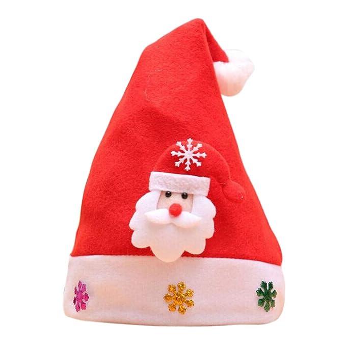 Amazon.com: Gorro de Navidad con lentejuelas brillantes ...