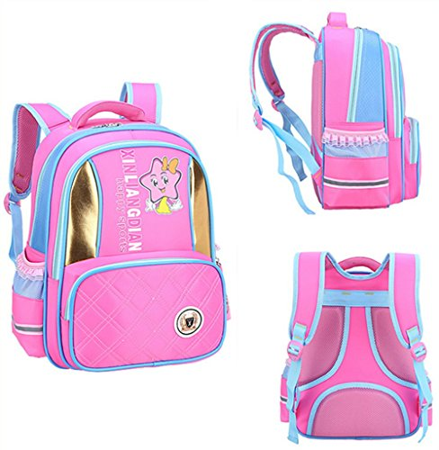 Cartton Children Double Shoulders Backpack for School Student (Isabellas Shop Handbag)