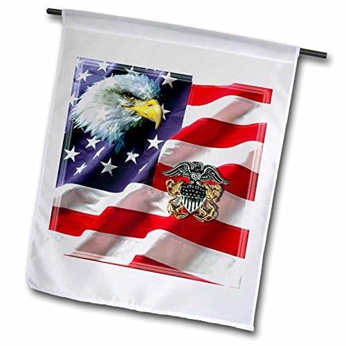 US Navy - US Navy Officer Crest - 12 x 18 inch Garden Flag - 769 Us