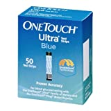 OneTouch Ultra Test Strips Blue 50 Each (Pack of 2)