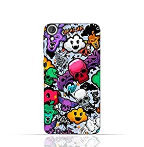 HTC Desire 820 TPU Silicone Case with Funky Seamless Freak Texture