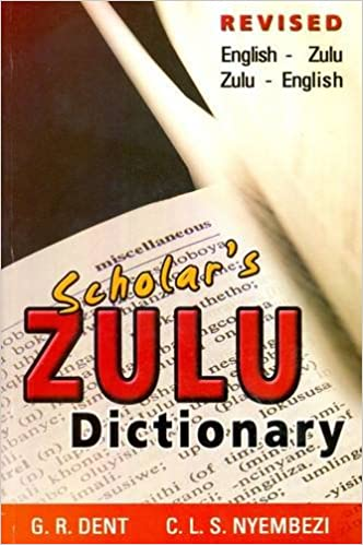 Isizulu Dictionary Pdf