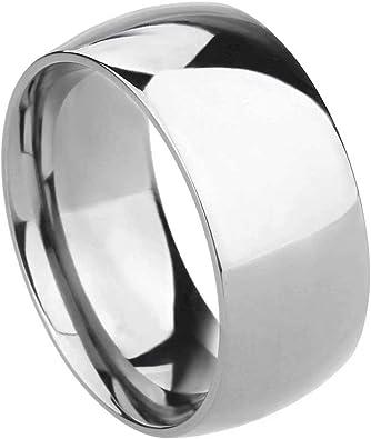 Titanium 8mm Comfort Fit Dome Band Size 9.5