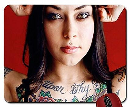 Tatuajes mujeres ojos modelos Nude caras retratos 1900 x 1068 Wallpaper mouse pad computer mousepad