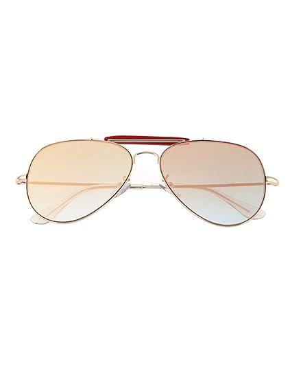Occhiali da sole piatte L'afflusso di persone colorate Tartarughe guida gli occhiali da sole a specchio ( Colore : 7 ) 14lOx