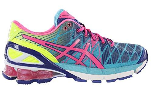 Chaussures De Running Gel-kinsei 5 Asics Womens Blue / Florida Rose / Bleu