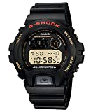 G-Shock DW6900-1V Men's Black Resin Sport Watch