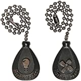 Harbor Breeze 2-Pack Bronze Pull Chains
