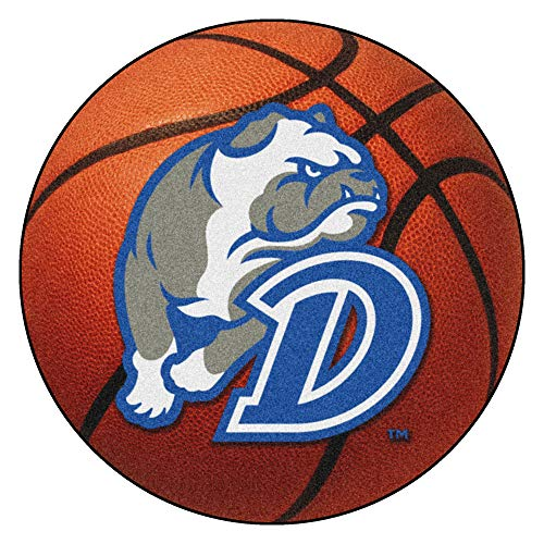 FANMATS NCAA Drake University Bulldogs Nylon Face Basketball Rug
