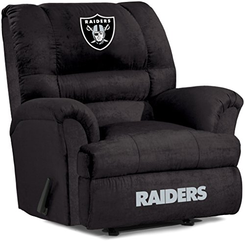 Oakland Raiders Recliner Raiders Leather Recliner