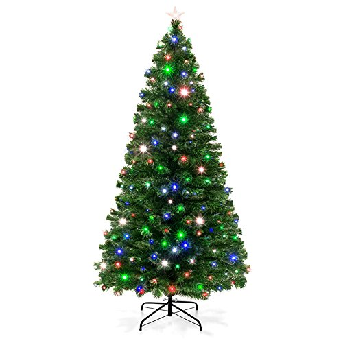 Artificial Christmas Tree With Multicolor Led Lights in US - 5