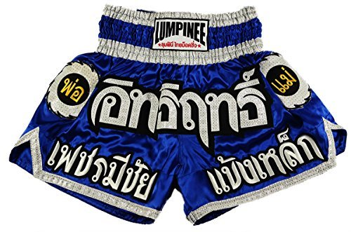 Lumpinee Muay Thai Kick Boxing Shorts : lum-015サイズL by Lumpinee   B01LE3E33G